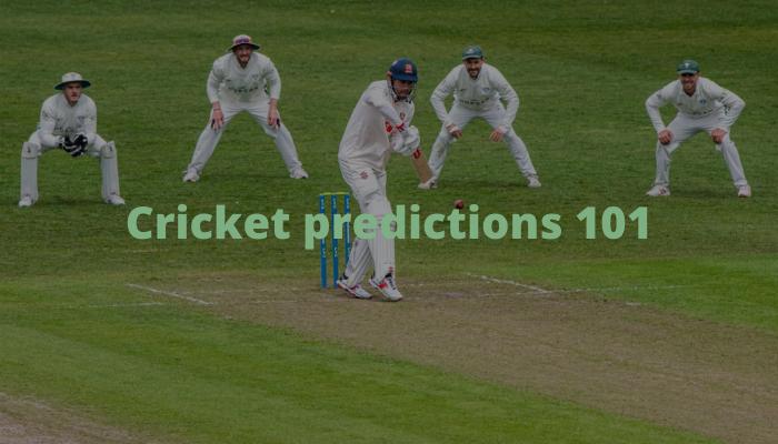 cricket predictions