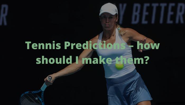 tennis predictions